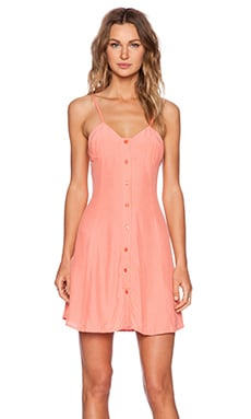 Motel Cathy Dress in Strawberry Ice