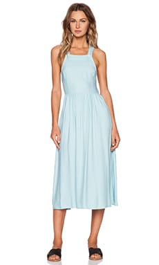 Motel Rossy Dress in Chalk Blue