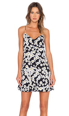 Motel Sana Slip Dress in Moonlit Daisy
