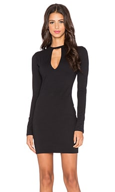 Motel Jardine Mini Dress in Black