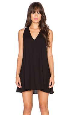 Motel Soya Mini Dress in Black
