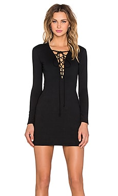 Motel Cordelia Dress in Black