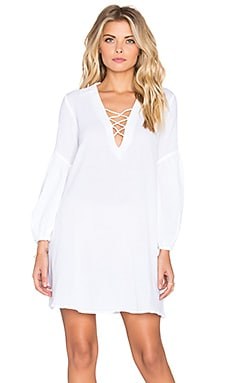 Motel Bray Dress in White