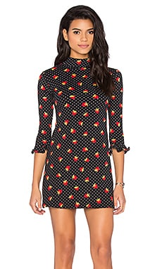 Alida Dress in Fruit Polka