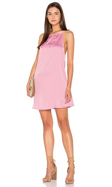 Motel Nicolette Dress in Rose Beige