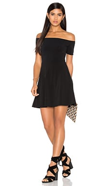 Motel Catalina Dress in Black