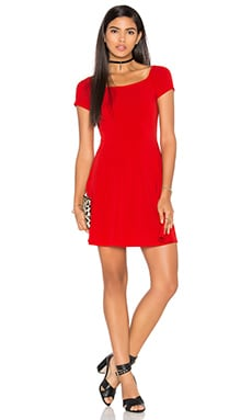Motel Catalina Dress in Red