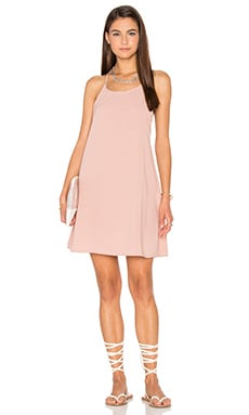 Motel Linikai Dress in Dusky Pink