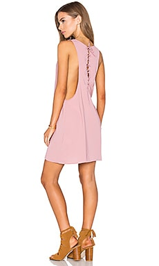Motel Merci Dress in Dusky Pink