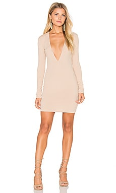 Motel Meli Dress in Nude