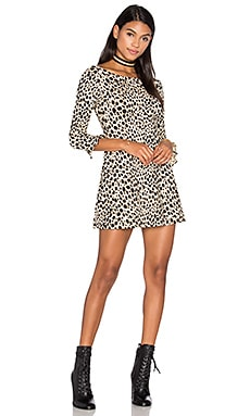 Triton Dress in Cheetah