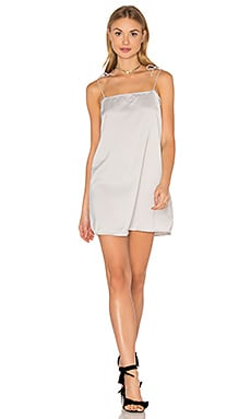 Egion Dress in Silver