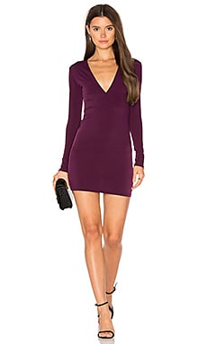 Lynette Dress in Dark Purple