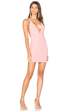 Winston Dress in Shell Bandage Rib