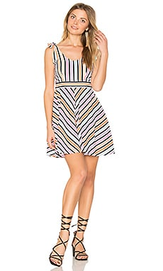 Chere Dress in Candy Stripe