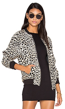 Bomber Jacket in Cheetah