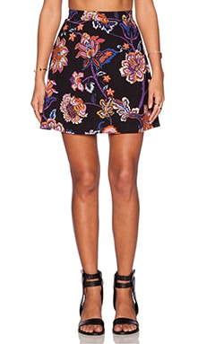 Motel Rea Skirt in Tapestry