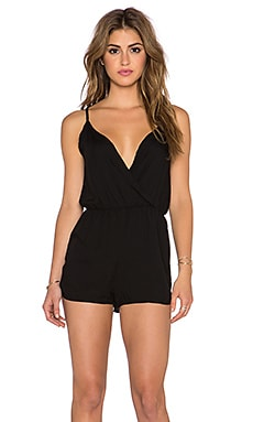 Motel Ishe Romper in Black