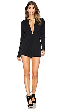 Tonya Romper in Black