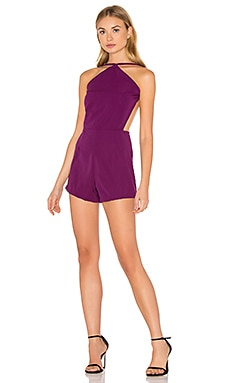 Mocia Romper in Purple