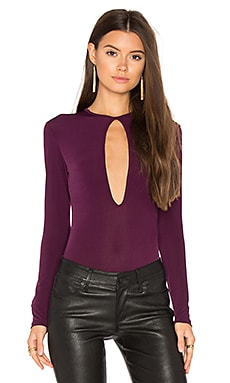 Morch Bodysuit in Dark Purple