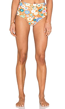 Motel Grazer Bikini Bottom in Flower Pop