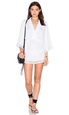 Motel Giola Romper in White