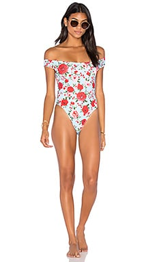 Motel Vedette One Piece Swimsuit in Garden Posey