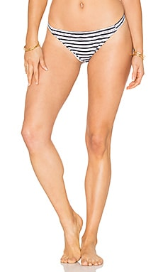 Hera Bikini Bottom in Stripe