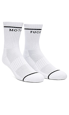 Baby Steps Socks in White & Black