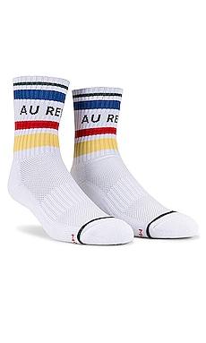 Baby Steps Au Revoir Socks MOTHER $24