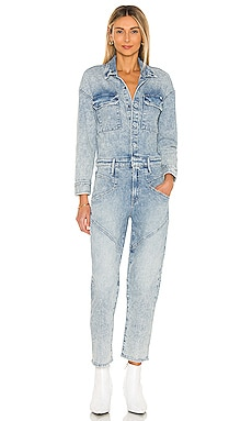 The All-In-One Breaker Ankle Jumpsuit MOTHER $498 NEW