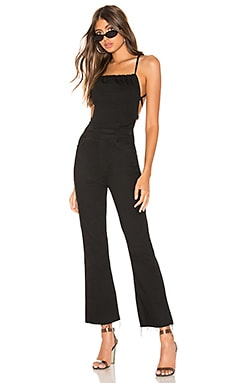 The Tie Back Hustler Ankle Fray Jumpsuit MOTHER $139