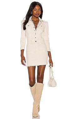 The Puffy Bruiser Mini Dress MOTHER $395