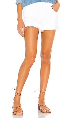 The Teaser Step Fray Short MOTHER $168