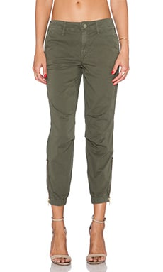 MOTHER Misfit Crop in Island Fever Military Green