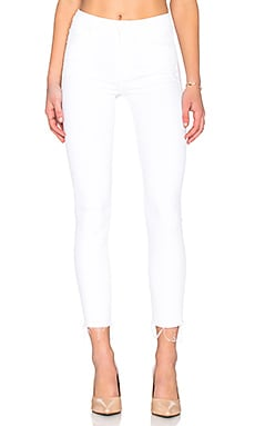 JEAN SKINNY LOOKER HIGH WAIST ANKLE FRAY