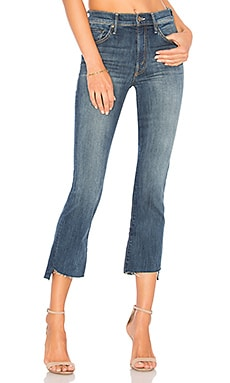 JEANS CROPPED INSIDER MOTHER $228