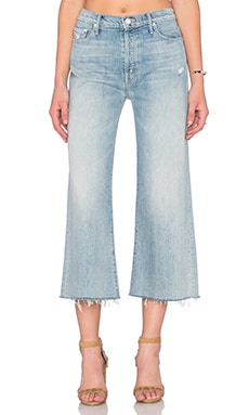 JEAN CROPPED THE ROLLER CROP FRAY