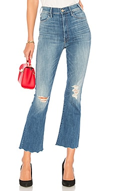 The Hustler Ankle Chew Jean MOTHER $238