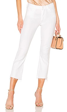 JEAN PIERNA RECTA THE INSIDER CROP MOTHER $144