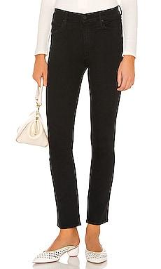 Облегающие прямые джинсы the mid rise dazzler ankle - MOTHER Скинни фото