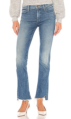 JEAN BOOTCUT THE RUNAWAY STEP FRAY MOTHER $235
