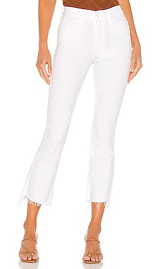 Insider Crop Step Fray MOTHER $198