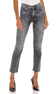 High Waisted Rascal Ankle Snip MOTHER $238 NEW