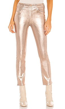 DROIT THE MID RISE DAZZLER ANKLE MOTHER $258