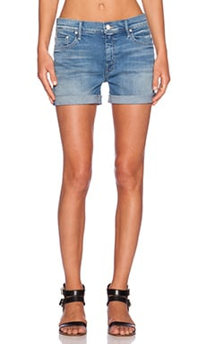 MOTHER The Dropout Cuff Short in Afternoon Delight