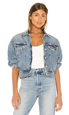 CHAQUETA DENIM THE FLYAWAY JACKET MOTHER $150