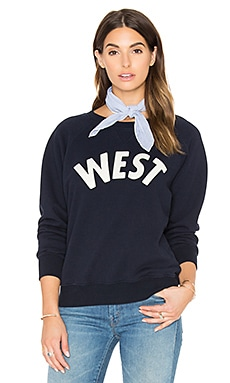 MOTHER The Square Sweatshirt in West