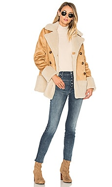 Faux Shearling Jacket en Bundled Up